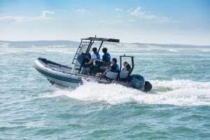 boat school Denia training boat Zodiac Open 5.5