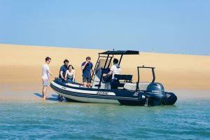 spanish boat licence with zodiac open 55